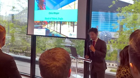 Engie's Chris Mayer addressed attendees