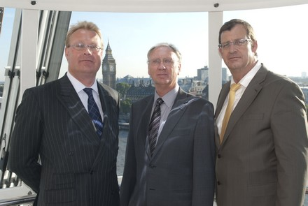 (l-r) Andrew Mapstone, Commercial Director,   Brian Morris, Chairman, and  Neil Pengilly, Chief Executive Relocity Ltd,