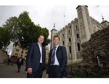 Danny Homan, Director of Communication & Development at Historic Royal Palaces and Paul Jackson, MD of Ampersand