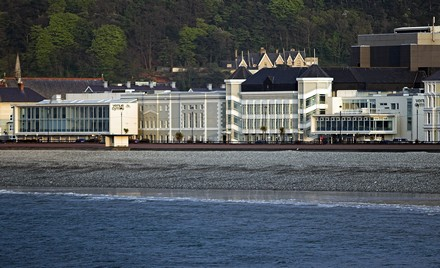 Venue  Cymru in Llandudno - gas consumption cut by over 50% as part of the Green Dragon environmental initiative