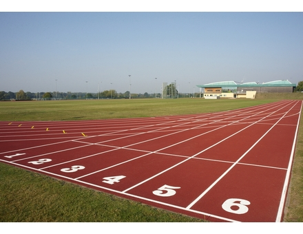 The track and sports centre